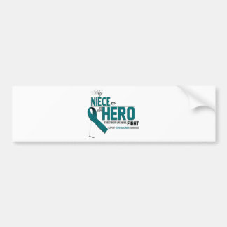 Cervical Cancer Awareness: niece Bumper Sticker