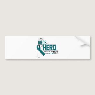Cervical Cancer Awareness: niece Bumper Sticker