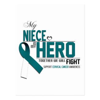 Cervical Cancer Awareness: niece Postcard
