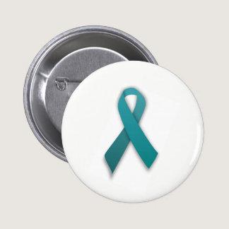 Cervical Cancer Awareness Pinback Button