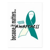 Cervical Cancer Awareness Postcard
