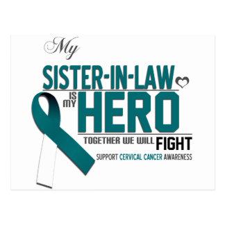 Cervical Cancer Awareness: Sister in Law Postcard