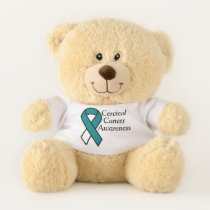 Cervical Cancer Awareness Teddy Bear