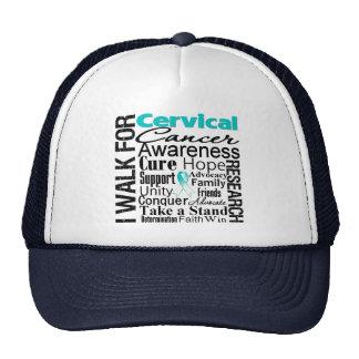 Cervical Cancer Awareness Walk Trucker Hat