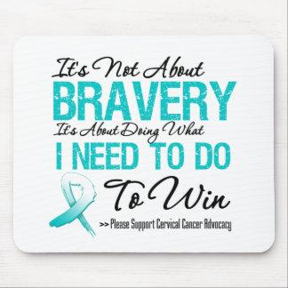Cervical Cancer Battle Mouse Pad
