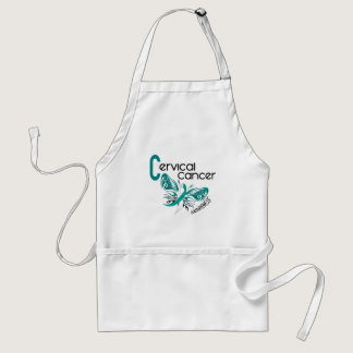 Cervical Cancer BUTTERFLY 3 Adult Apron