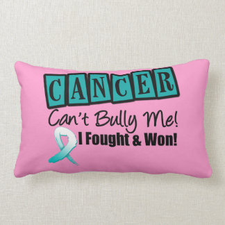 Cervical Cancer Can't Bully Me...I Fought I Won Throw Pillows