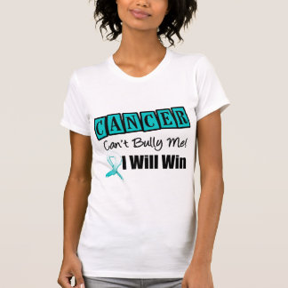 Cervical Cancer Cant Bully Me I Will Win T-Shirt