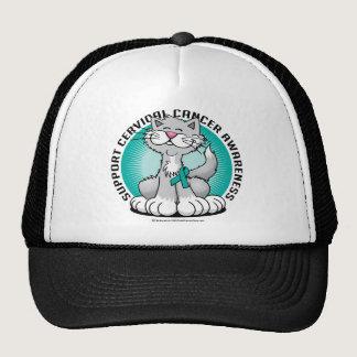 Cervical Cancer Cat Trucker Hat