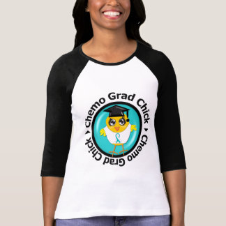 Cervical Cancer Chemo Grad Chick T-shirts