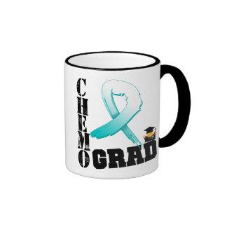 Cervical Cancer Chemo Grad Coffee Mug