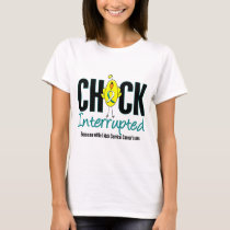 Cervical Cancer Chick Interrupted T-Shirt