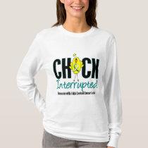 Cervical Cancer Chick Interrupted T-Shirt