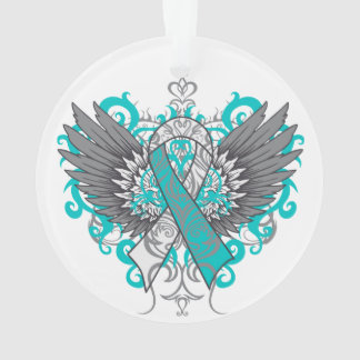 Cervical Cancer Cool Awareness Wings