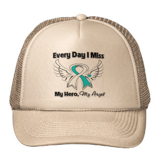 Cervical Cancer Every Day I Miss My Hero Trucker Hat
