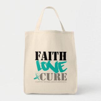 Cervical Cancer Faith Love Cure Bag