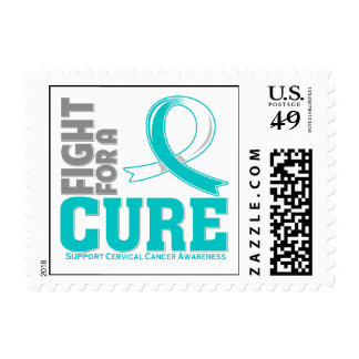 Cervical Cancer Fight For A Cure Stamp