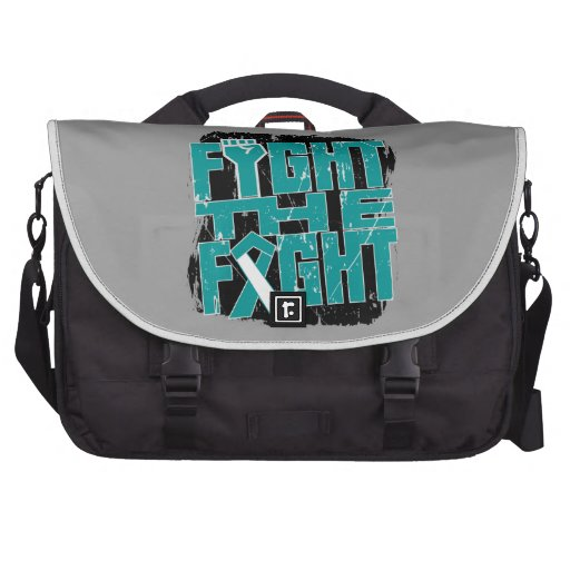 Cervical Cancer Fight The Fight Commuter Bag