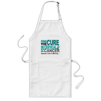 Cervical Cancer FIND THE CURE 1 Long Apron