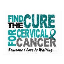 Cervical Cancer FIND THE CURE 1 Postcard