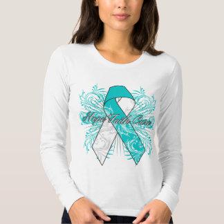 Cervical Cancer Flourish Hope Faith Cure Tshirt