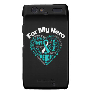 Cervical Cancer For My Hero Droid RAZR Covers
