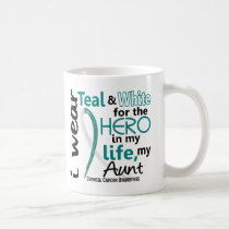 Cervical Cancer For My Hero My Aunt 2 Coffee Mug