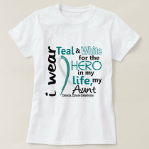 Cervical Cancer For My Hero My Aunt 2 T-Shirt