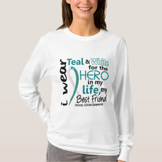 Cervical Cancer For My Hero My Best Friend 2 T-Shirt