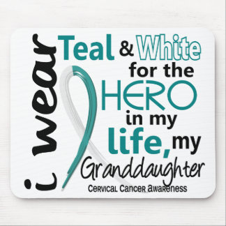 Cervical Cancer For My Hero My Granddaughter 2 Mouse Pad