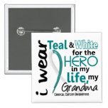Cervical Cancer For My Hero My Grandma 2 Pin