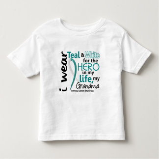 Cervical Cancer For My Hero My Grandma 2 Shirt