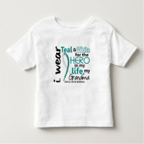 Cervical Cancer For My Hero My Grandma 2 Toddler T-shirt
