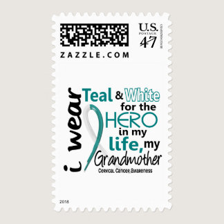 Cervical Cancer For My Hero My Grandmother 2 Postage