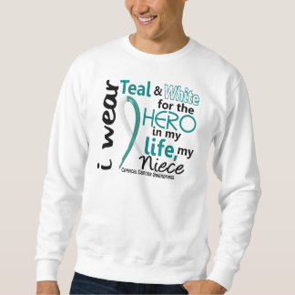 Cervical Cancer For My Hero My Niece 2 Sweatshirt