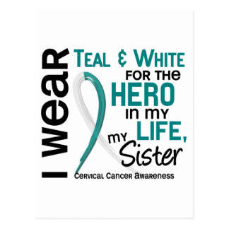 Cervical Cancer For My Hero My Sister 2 Postcard