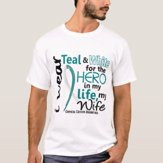 Cervical Cancer For My Hero My Wife 2 T-Shirt