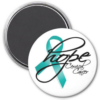 Cervical Cancer Hope 2 Magnet