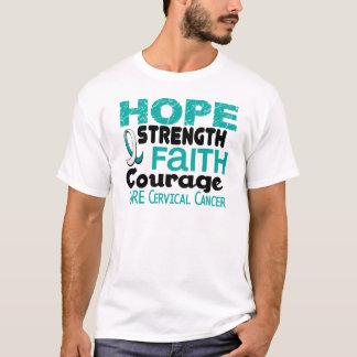 Cervical Cancer HOPE 3 T-Shirt