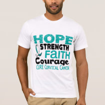 Cervical Cancer HOPE 3 T-Shirt