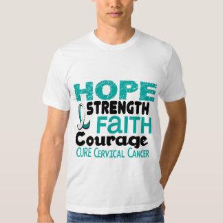 Cervical Cancer HOPE 3 Tshirts