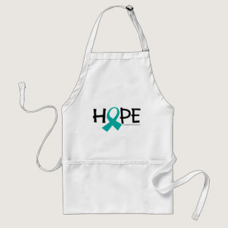 Cervical Cancer Hope Adult Apron