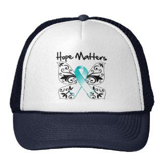 Cervical Cancer Hope Matters Trucker Hat