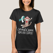 Cervical Cancer Hope Support Womens T-shirt