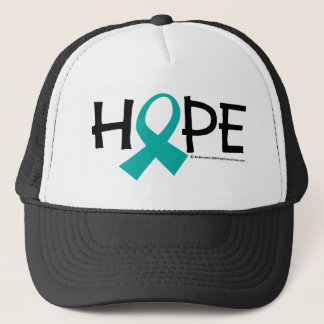 Cervical Cancer Hope Trucker Hat