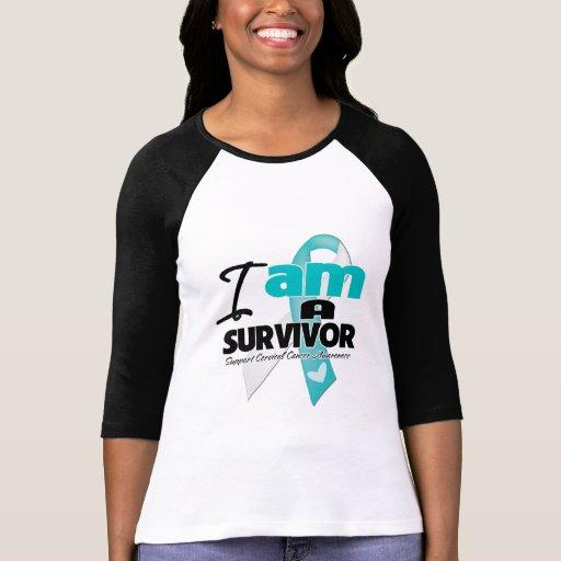 Cervical Cancer - I am a Survivor Tee Shirts
