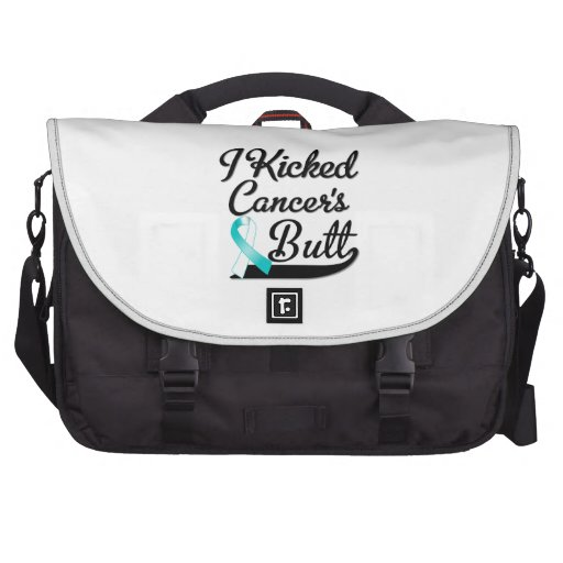 Cervical Cancer I Kicked Butt Bags For Laptop