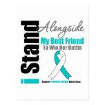 Cervical Cancer I Stand Alongside My Best Friend Post Cards