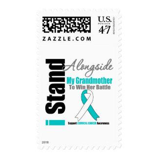 Cervical Cancer I Stand Alongside My Grandmother Stamp