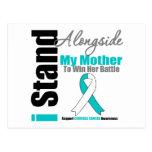 Cervical Cancer I Stand Alongside My Mother Postcard